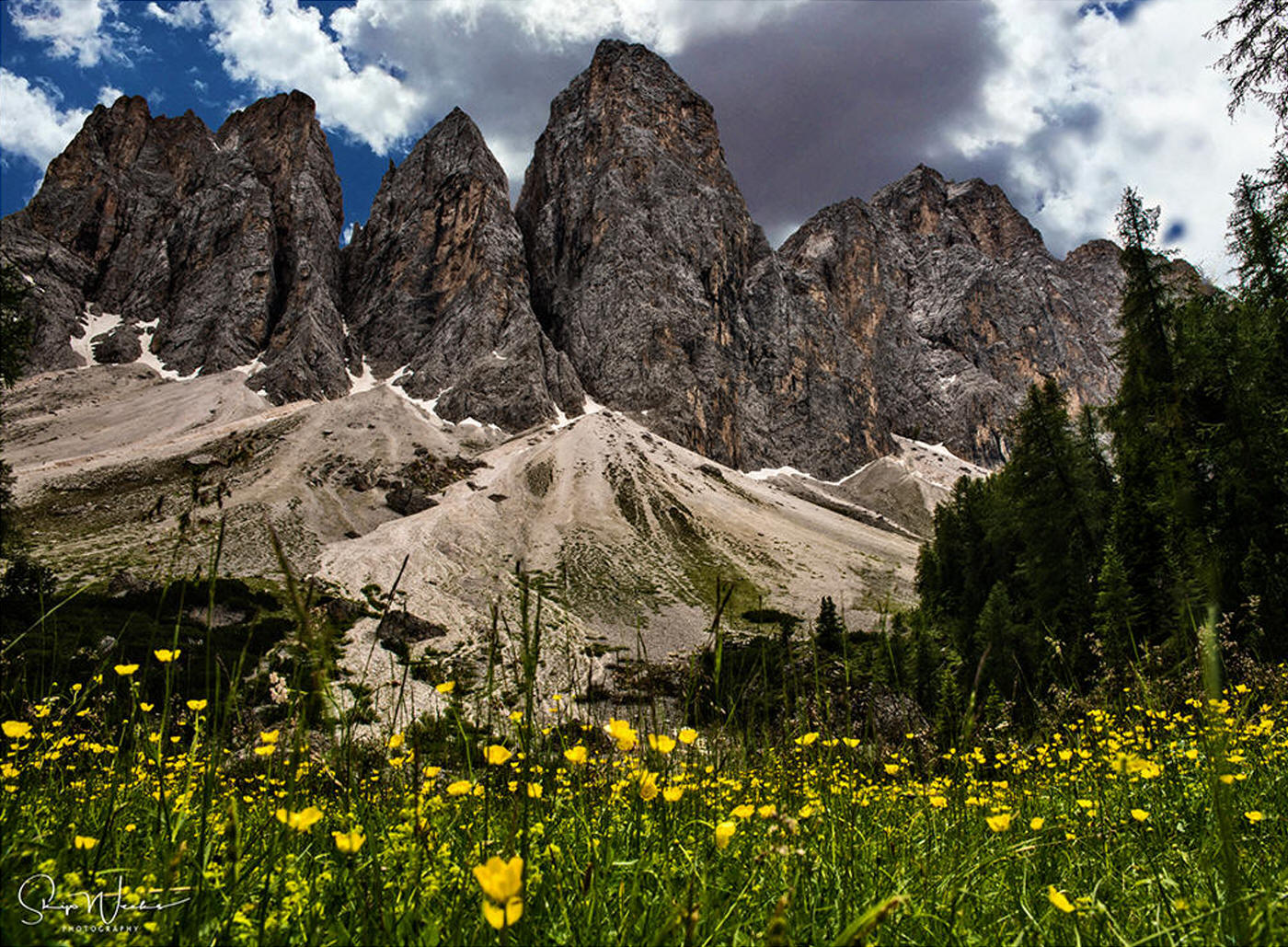 Base of the Dolomites by Skip Weeks